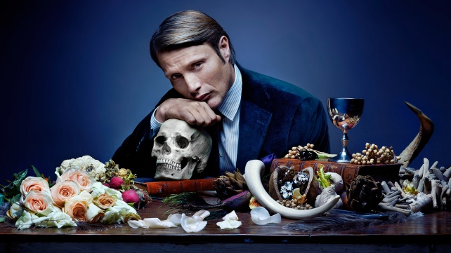 Mads Mikkelsen as Hannibal in the 2013 TV show of the same name.
