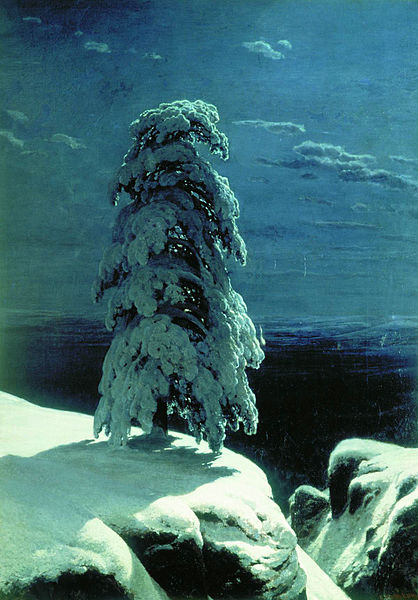 Ivan Shishkin (1832-1898) - In The Wild North