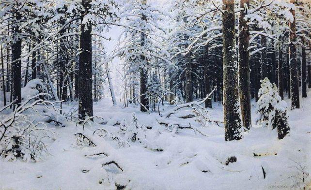 Ivan Shishkin (1832–1898) - Winter