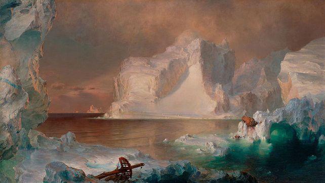 Frederic Edwin Church (1826-1900) - The Icebergs