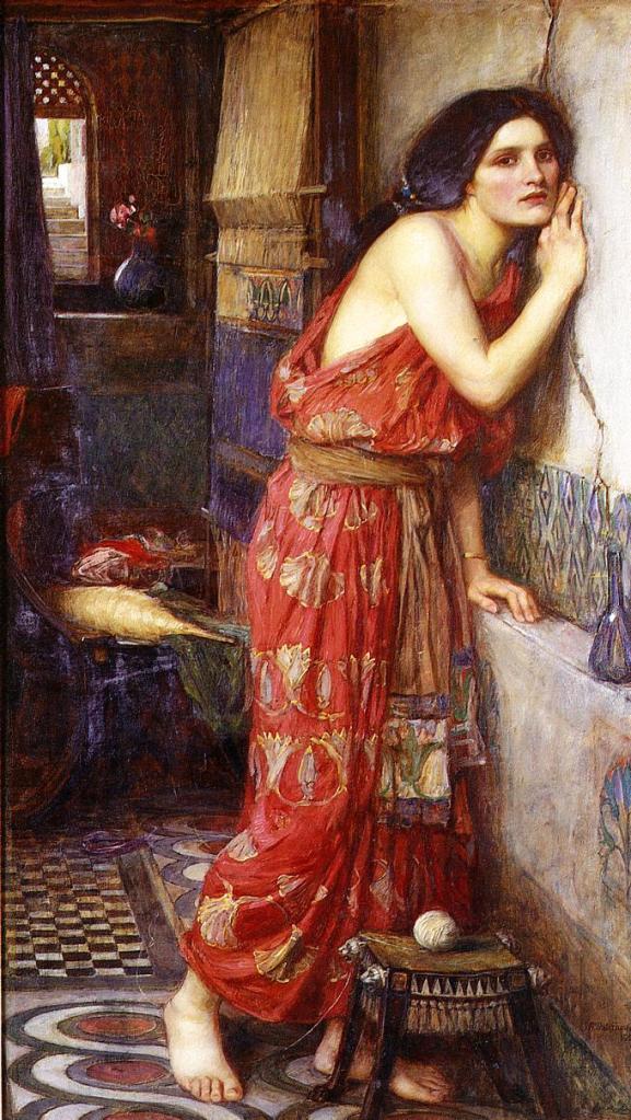 Thisbe by John William Waterhouse, 1909.